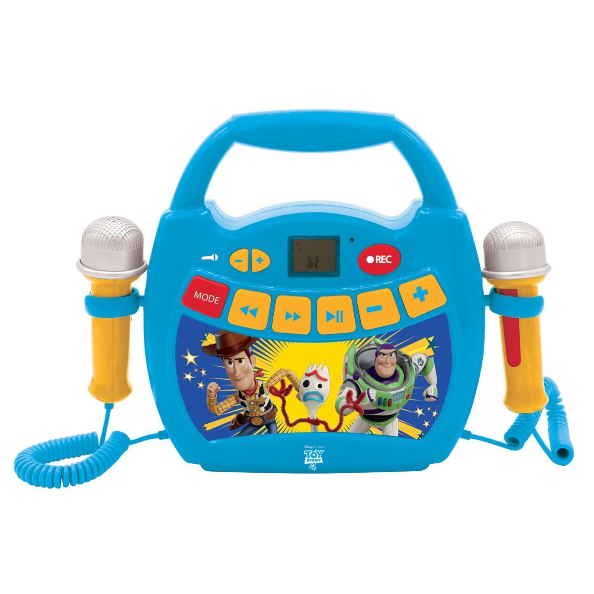 Mi primer reproductor digital con micrófonos Toy Story 4