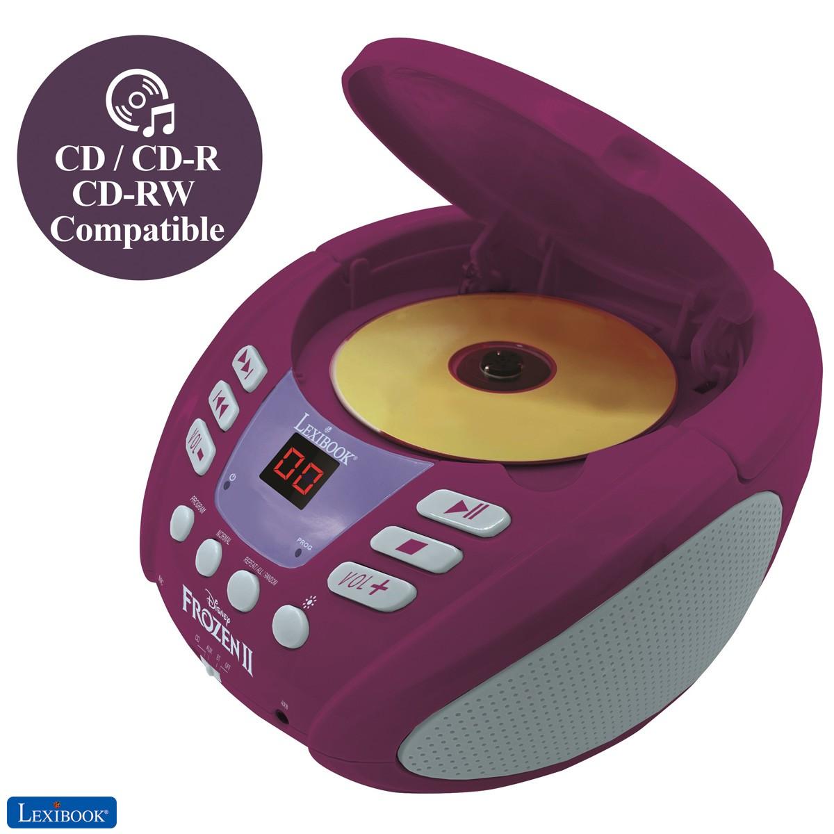 Disney Frozen 2 - Lector de CD Bluetooth para niños