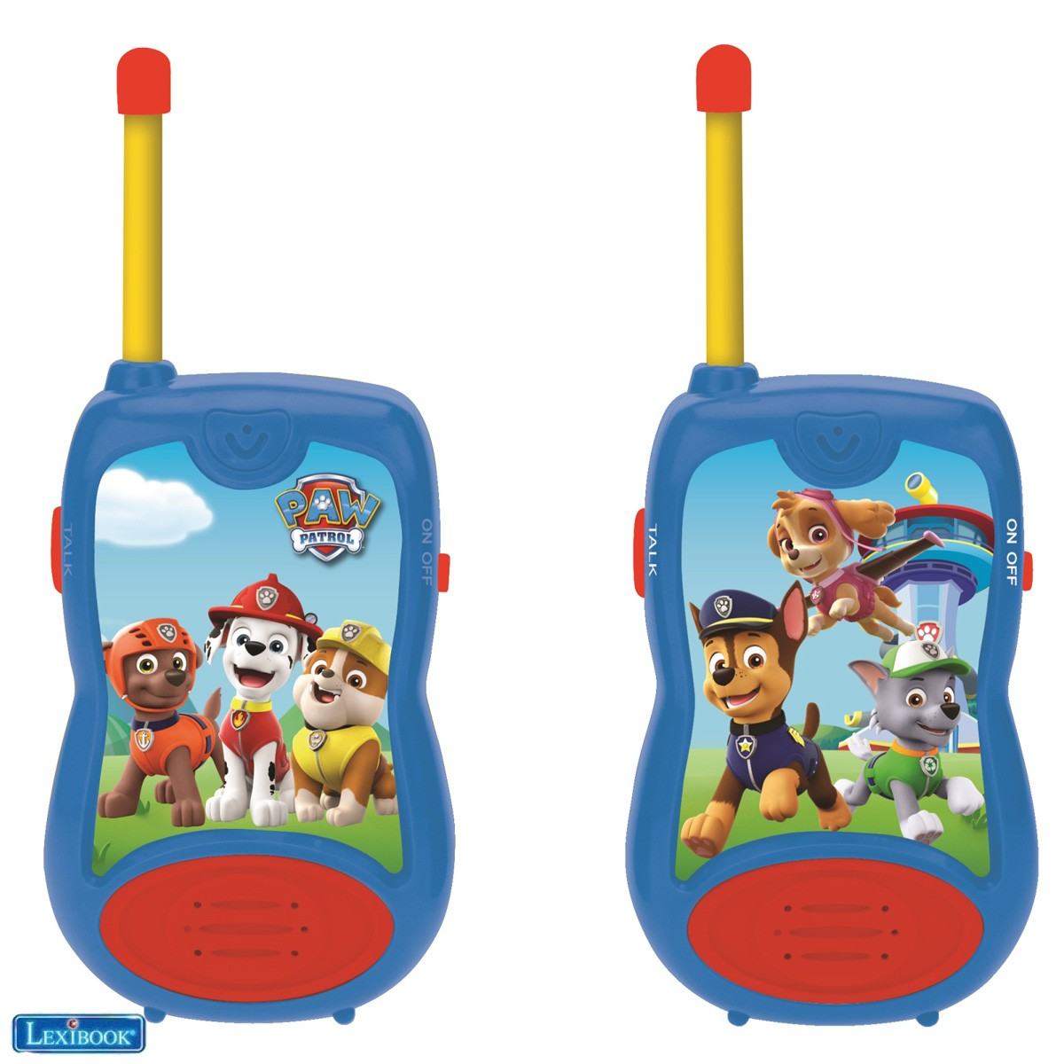 Walkie-talkies La Patrulla Canina