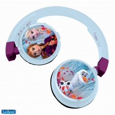 Disney Frozen Elsa Anna Stereo Headphone cableado y Bluetooth (inalámbrica), child-friendly power