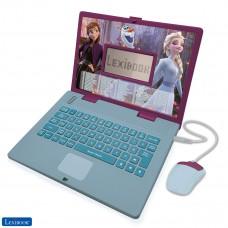 Disney Frozen 2 - Ordenador portátil educativo y bilingüe español/inglés