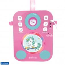 Altaparlante luminoso Unicornio con 2 micrófonos