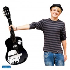 Star Wars Rey Poe Finn BB-8 Guitarra Acústica de madera