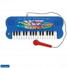 Paw Patrol Teclado electrónico, piano de 32 teclas, Micrófono para cantar