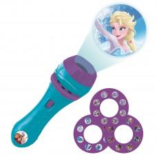 Proyector de cuentos y linterna de bolsillo Disney Frozen