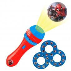 Proyector de cuentos y linterna de bolsillo Spider-Man