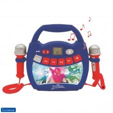 Spider-Man - Reproductor de música de karaoke portátil para niños