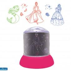 Disney Princesas - Luz nocturna, quitamiedos con proyecciones de las princesas de Disney
