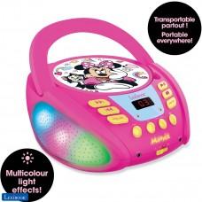 Disney Minnie - Lector de CD Bluetooth para niños