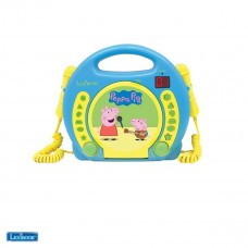 CD Player with Mics Peppa Pig