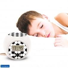Reloj despertador fútbol con proyector