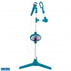 Micrófono con pie luminoso y altavoz integrado Frozen 2