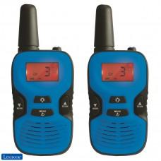 Par de walkie talkies, rango transmisión de 5km