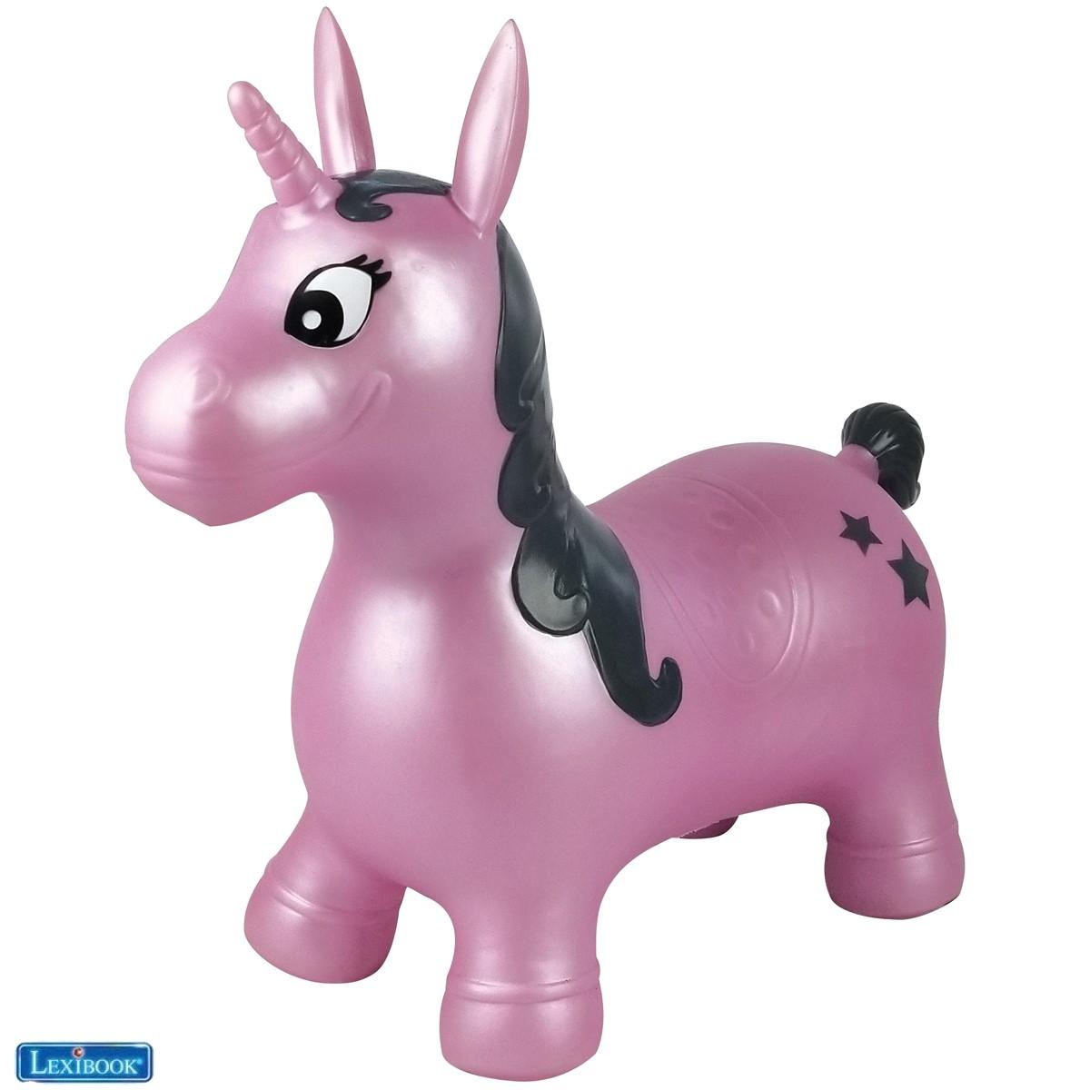Unicorno da salto gonfiabile