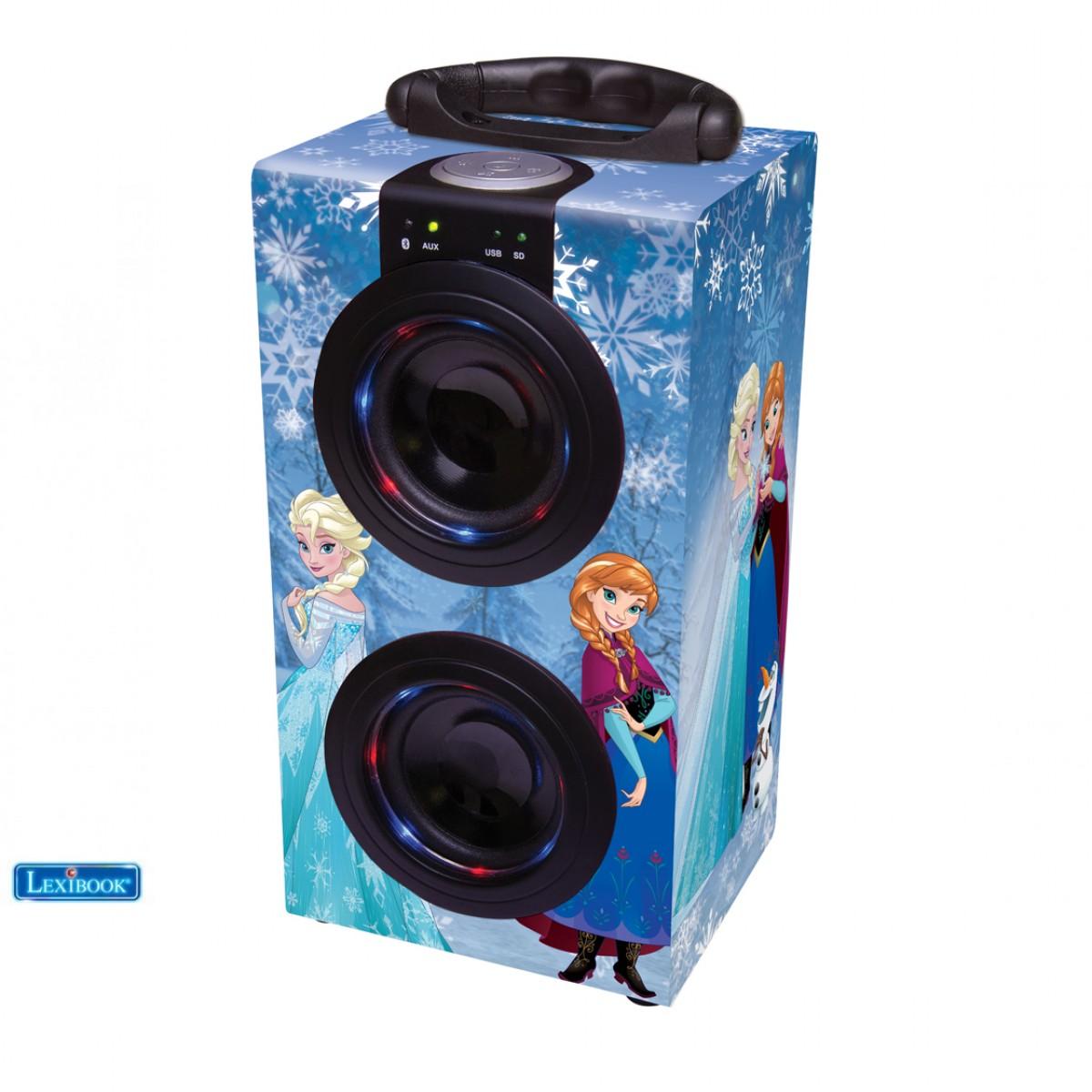 Mini Tour Bluetooth® La Reine des Neiges - Lexibook BT600FZ
