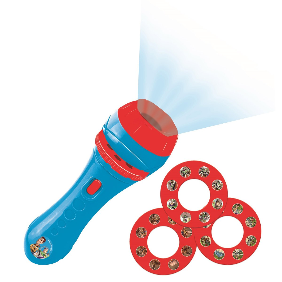 Projecteur à histoires, Toy Story lampe torche et projecteur avec 3 disques