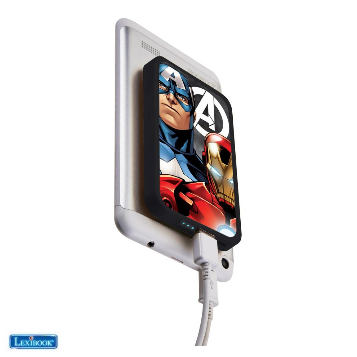 Power bank 4000 MAH con ventose Avengers
