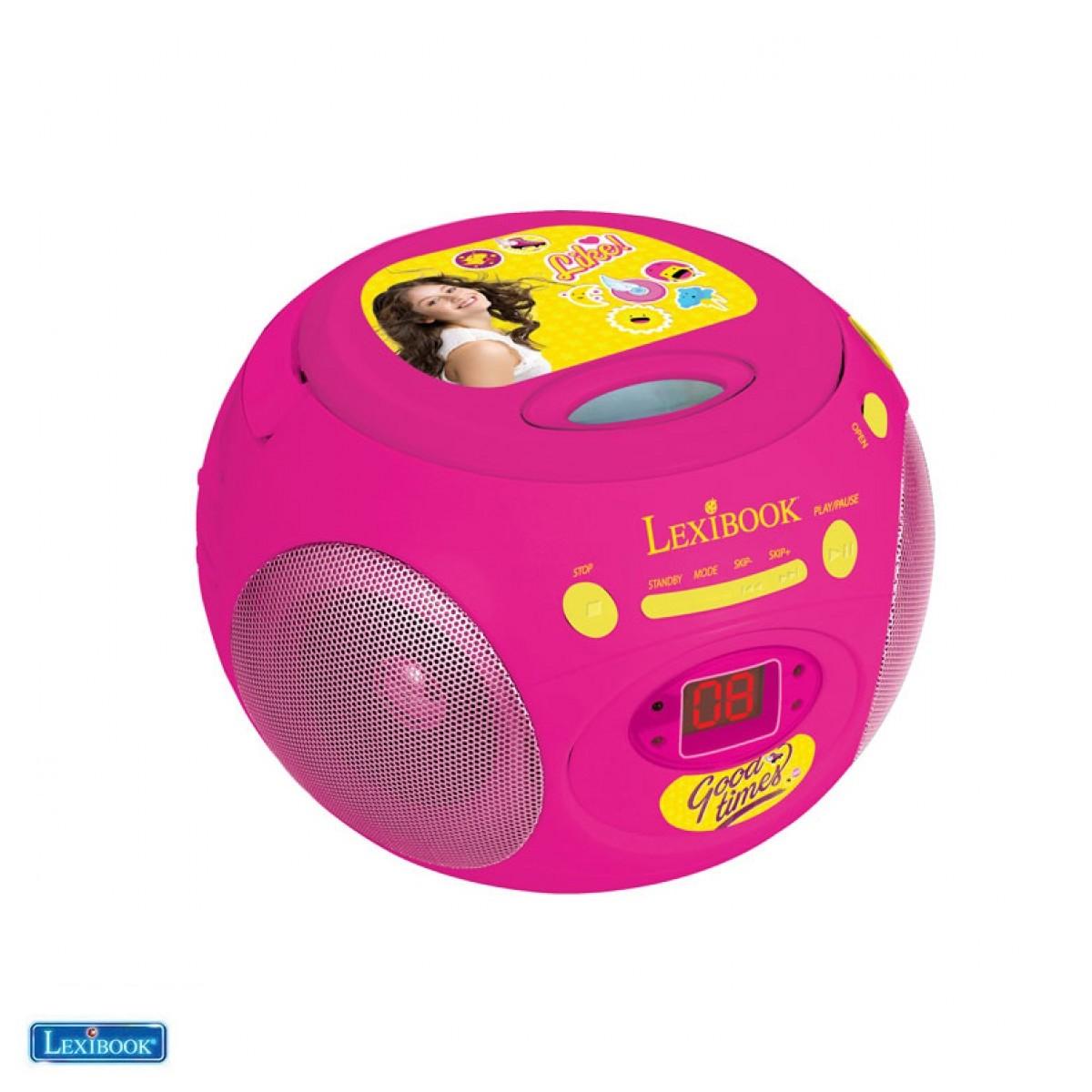 RCD102SL Radio lecteur CD Soy Luna - Lexibook