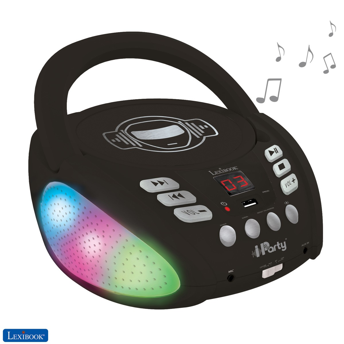 iParty - Lettore CD Bluetooth per bambini