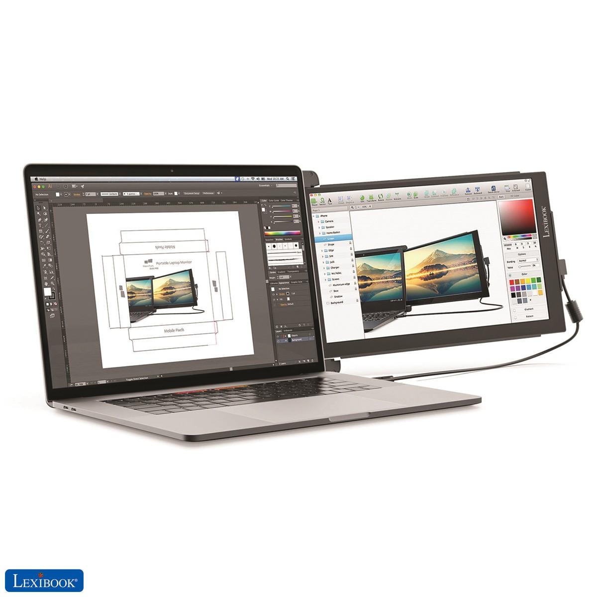 """Trio Max 14"""" Monitor portatile per laptop"""