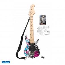 Guitare électrique avec ampli intégré 6W, design 100% girly