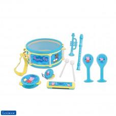 Peppa Pig George giocattolo musicale, Set di 7 strumenti musicali
