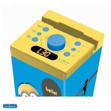 Torre stereo Bluetooth luminosa e Karaoke Minions
