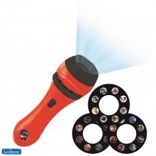 Projecteur à histoires, Miraculous, lampe torche et projecteur avec 3 disques, 24 images, créez vos propres histoires