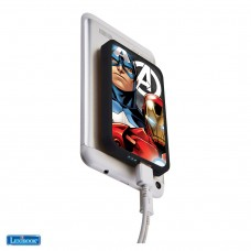 Power bank 4000 MAH con ventose Avengers
