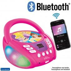 Disney Principessa - Lettore CD Bluetooth per bambini