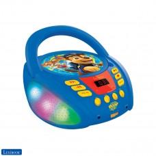 Paw Patrol - Lettore CD Bluetooth per bambini