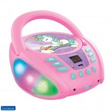 Unicorno - Lettore CD Bluetooth per bambini