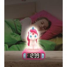 Sveglia con Luce Notturna Unicorno