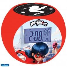 Miraculous Ladybug Radio réveil projecteur