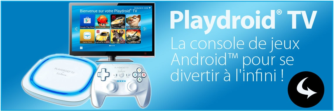 Console PlayDroidTV de Lexibook