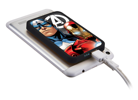 Power Bank 4000 mAh avec ventouses de fixation