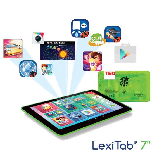 jeux sur tablette lexibook