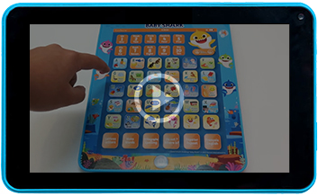 Baby Shark tablette éducative bilingue