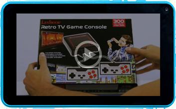 Console de jeux TV Plug N'Play