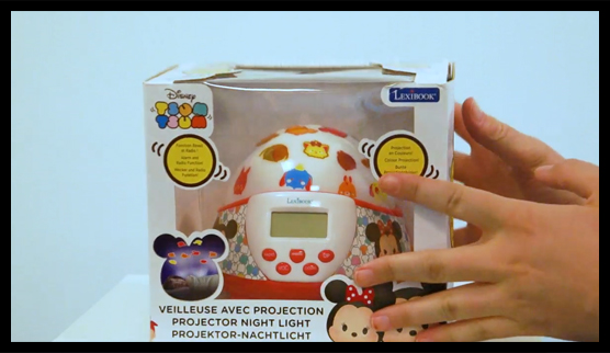 Unboxing NLJ140 Radio clock projector nightlight dome