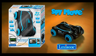 Spy Move, the radio controlled car camera from Lexibook