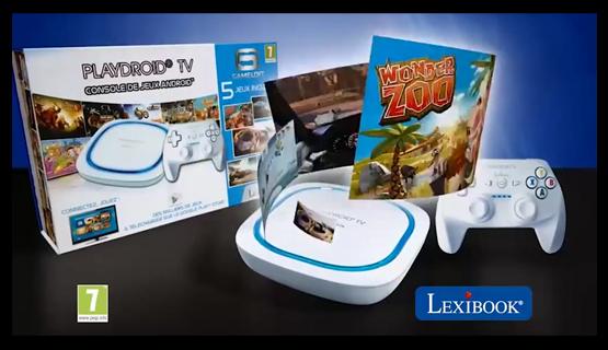 Vid os produits et pubs tv lexibook - Console de jeux lexibook ...